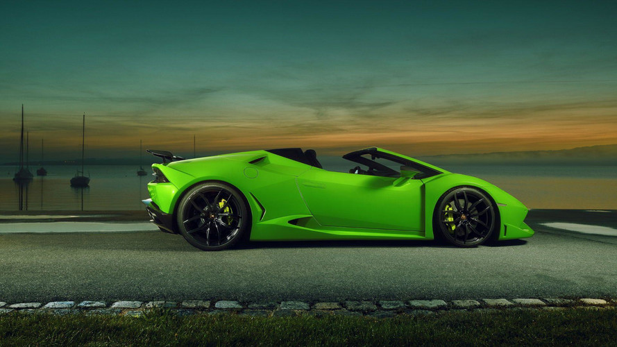 lamborghini huracan spyder widened and supercharged by novitec. Black Bedroom Furniture Sets. Home Design Ideas