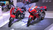 Honda CBR 1000RR Fireblade no Salão de Buenos Aires