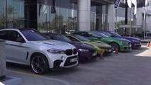 BMW Abu Dhabi dealership showroom
