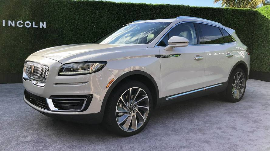 Ford Suv Models >> 2019 Lincoln Nautilus Picks Up Where MKX Left Off