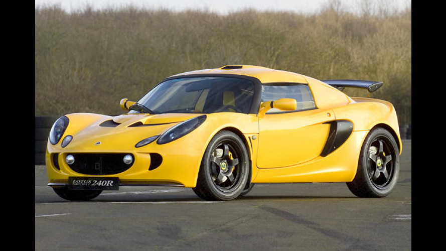 Lotus Exige 240R spurtet in 3,9 Sekunden auf Tempo 100