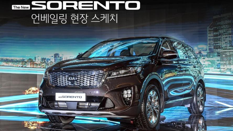 2018 Kia Sorento facelift (KR Spec)