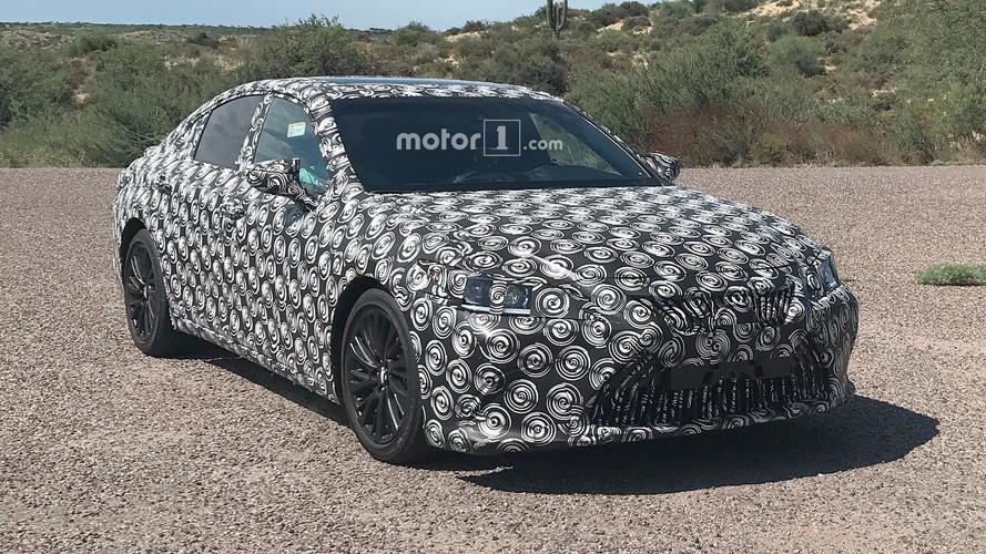 2019 Lexus ES Spied In The Desert With Mercedes, Audi Rivals