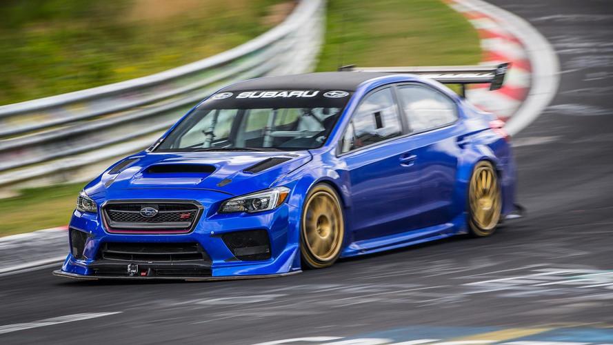 Watch The Subaru STI NBR Special Set Sedan Lap Record At The Ring
