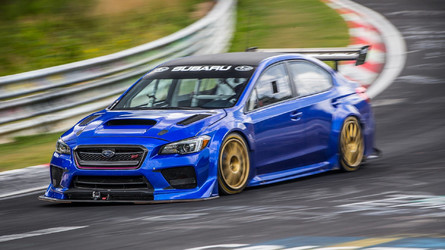Subaru Sets Fastest Lap Record For A Sedan At Nürburgring