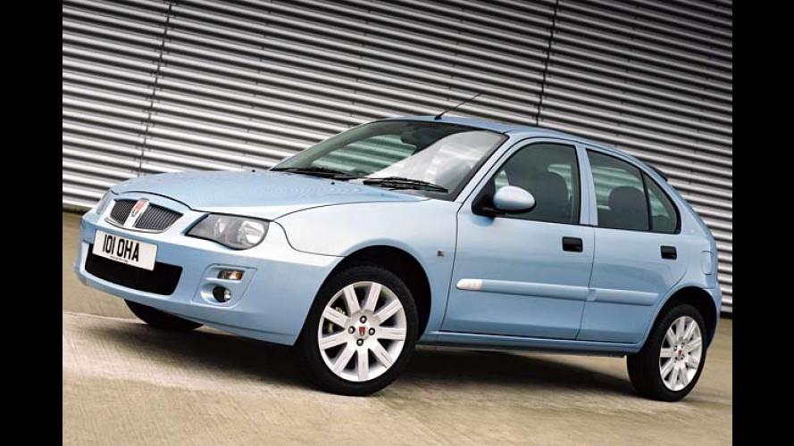 Rover 25 und MG ZR: Mit neuem Gesicht in den Sommer