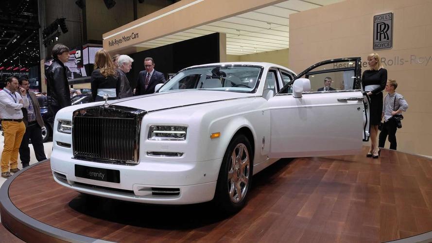 Rolls-Royce Phantom Serenity bows in Geneva
