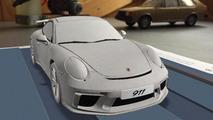 2017 Porsche 911 GT3'ün internete sızan görüntüleri