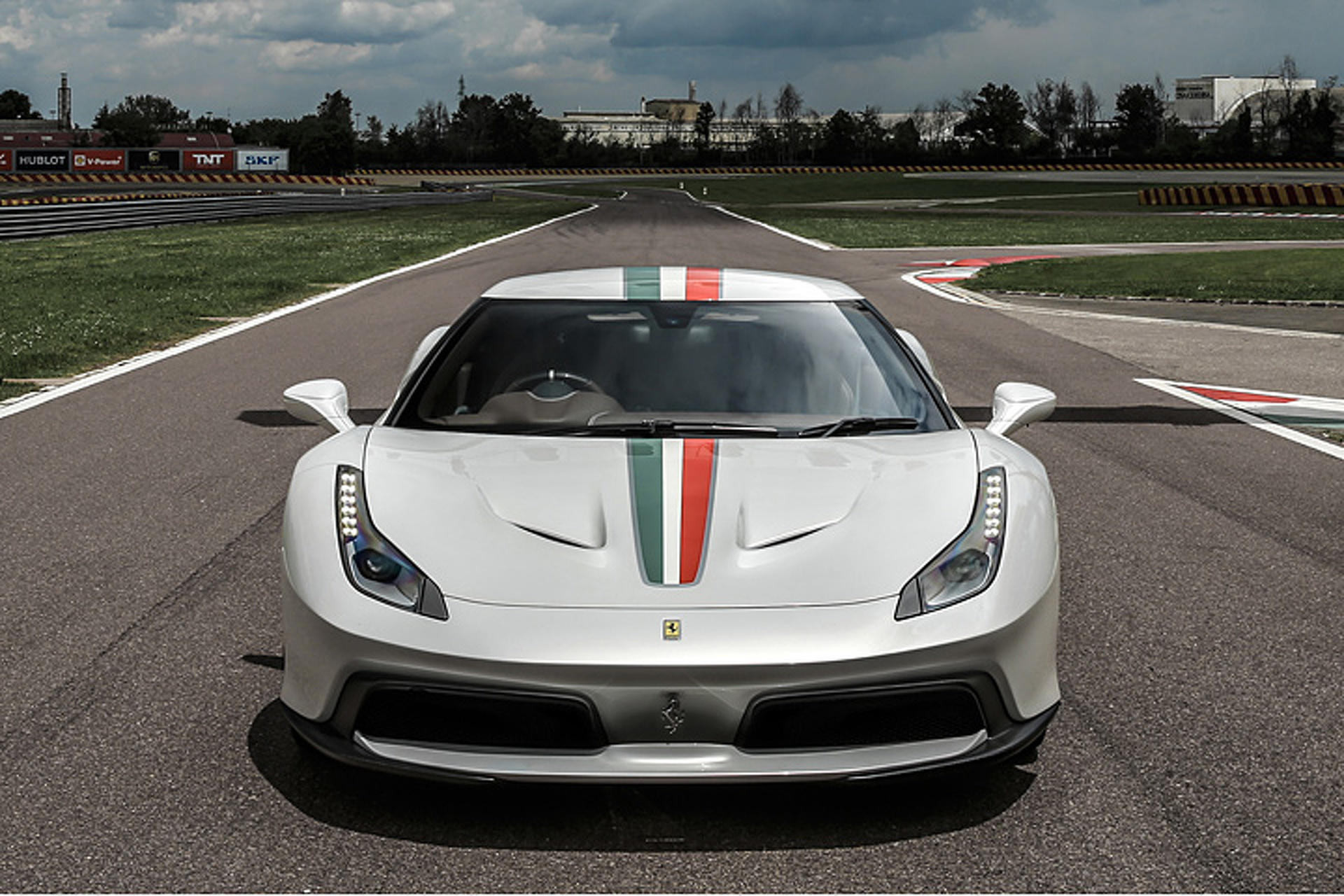 This is the Only Ferrari 458 MM in the World