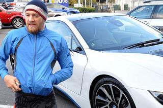 UFC Champ Connor McGregor in a BMW i8 Brandishing a Gun?