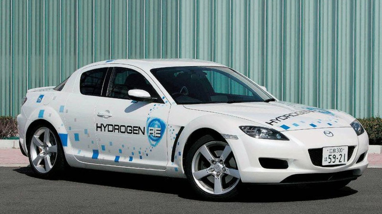 Mazda's RX-8 Hydrogen Rotary (H2RE)