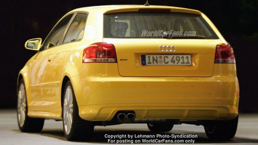 More Spy Photos: Audi S3 Uncovered