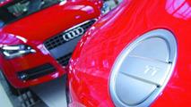Audi TT Coupé assembly line