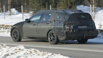 Mercedes C-Class Station Wagon Spy Photos