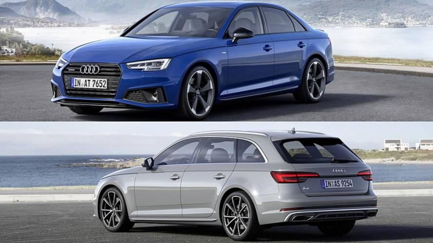 2018 model Audi A4 Sedan ve Avant ortaya çıktı