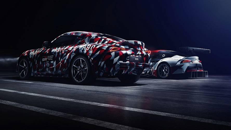 Toyota Supra 2019 ganha novo teaser e terá motor de seis cilindros