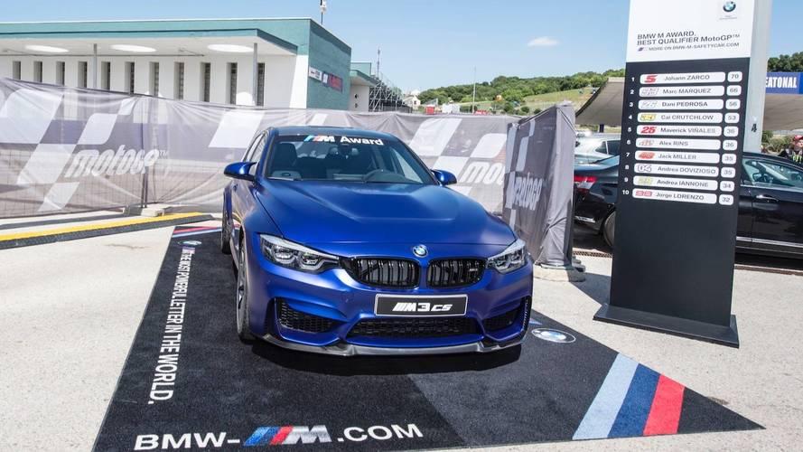 BMW will give the best MotoGP qualifier an M3 CS