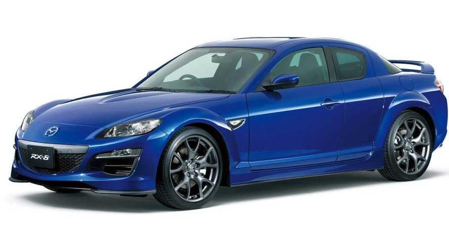 Mazda RX-8 RS Facelift Photos Released (JA)