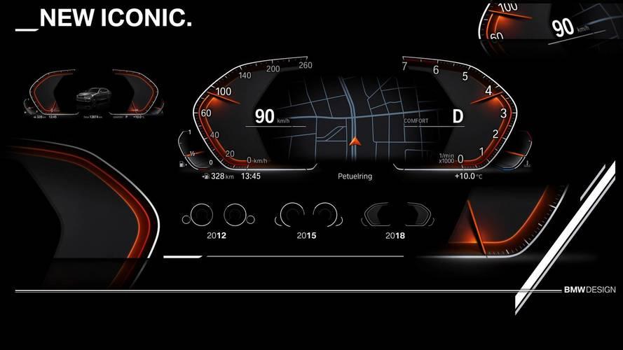 BMW, la nuova strumentazione digitale