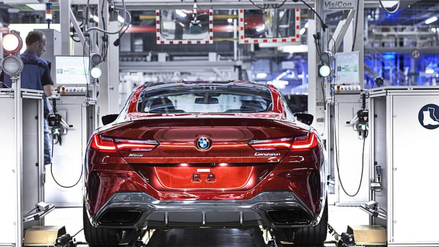 2019 BMW 8 Series Coupe Hits The Assembly Line