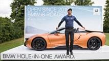 BMW hole-in-one award
