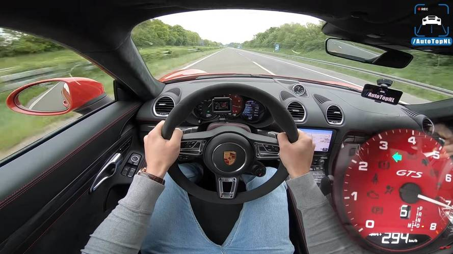 Porsche 718 Cayman GTS: al límite en la Autobahn