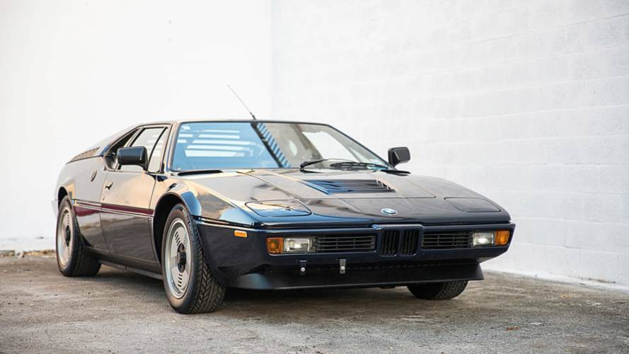 1981 BMW M1 Is Dark Blue Beauty For $695,000