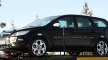 2010 Ford Focus prototype mule spy photo