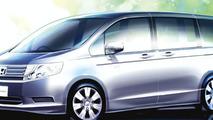 Honda Announces All-new Step WGN
