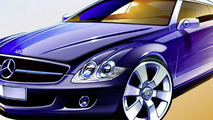 2008 Mercedes-Benz CLC Class design illustration - 1600 - 01.04.2010