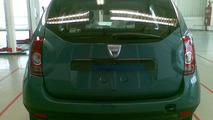 New Dacia SUV spied uncovered