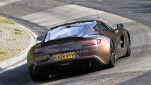 Aston Martin One-77 spy photo on Nurburgring for first time 01.07.2010
