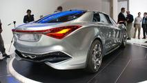 Hyundai i-flow HED-7 Hybrid Concept Live in Geneva 02.03.2010