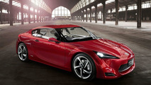 Toyota FT-86 II concept teaser photo released ahead of Geneva