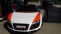 Audi R8 V10 biturbo conversion by MTM spy photos, 14.09.2010