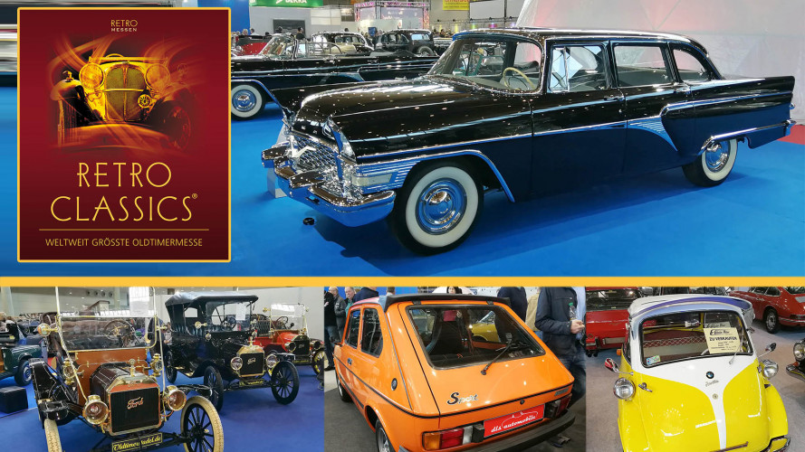 Retro Classics 2018: Die Oldtimer-Highlights
