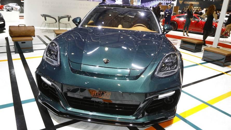 Techart Porsche Panamera Sport Turismo Live From Geneva Motor Show