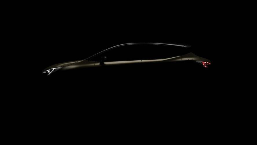 2019 Toyota Auris teaser