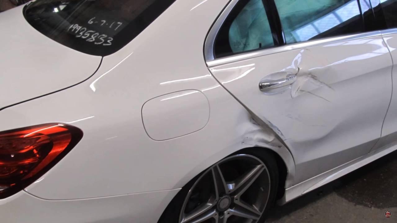 Pert olmuş Mercedes C300