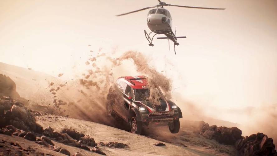 The Dakar 18 Video Game Looks Rally Good