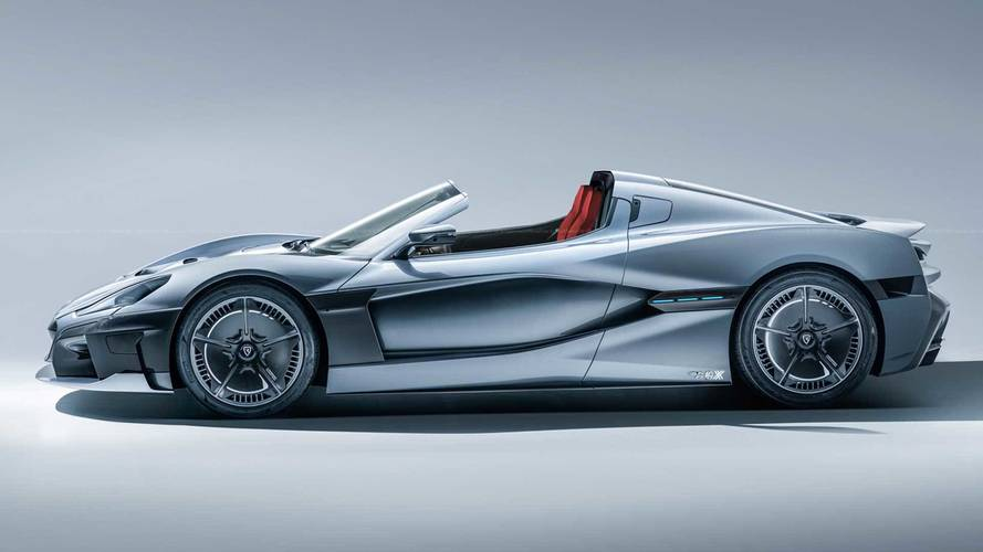 Rimac C_Two Render Drops Its Top In The Virtual World