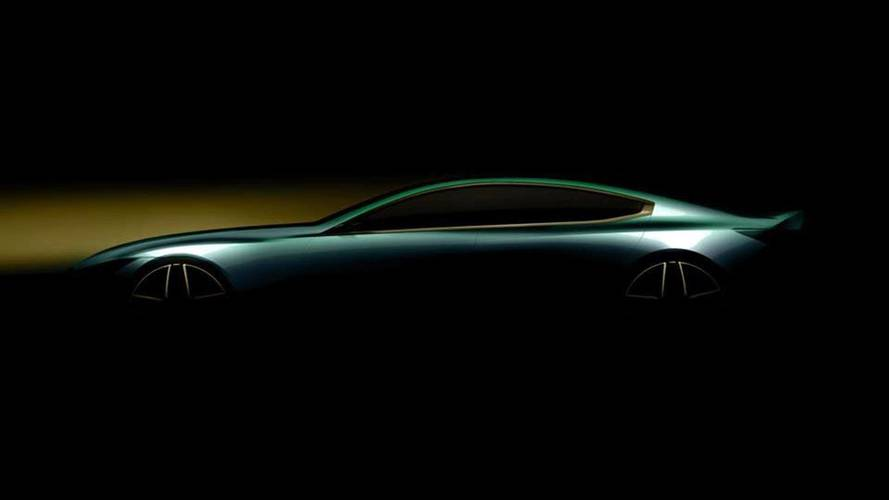 BMW 8 Series Gran Coupe Teaser Reveals Very Sexy Silhouette