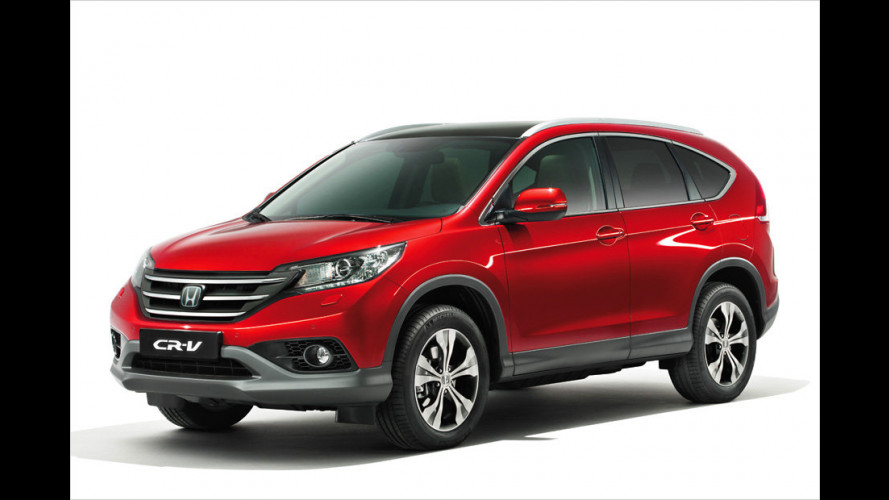 Honda CR-V am Start