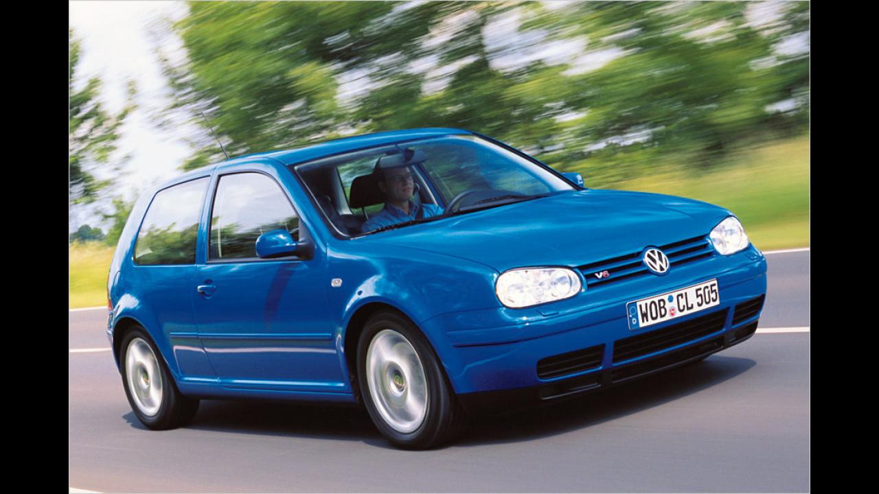 Platz 12: VW Golf IV 2.8 VR6 Syncro