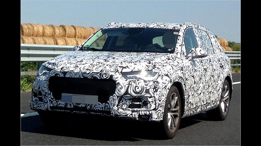 Erwischt: Audi erneuert den Q7