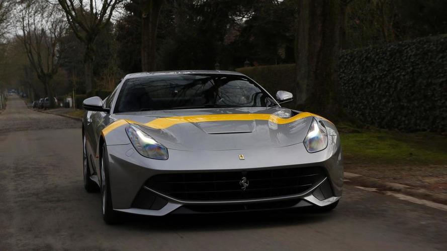 Ferrari reveals F12 Berlinetta Tour de France 64 during Dream Cars Show in Brussels