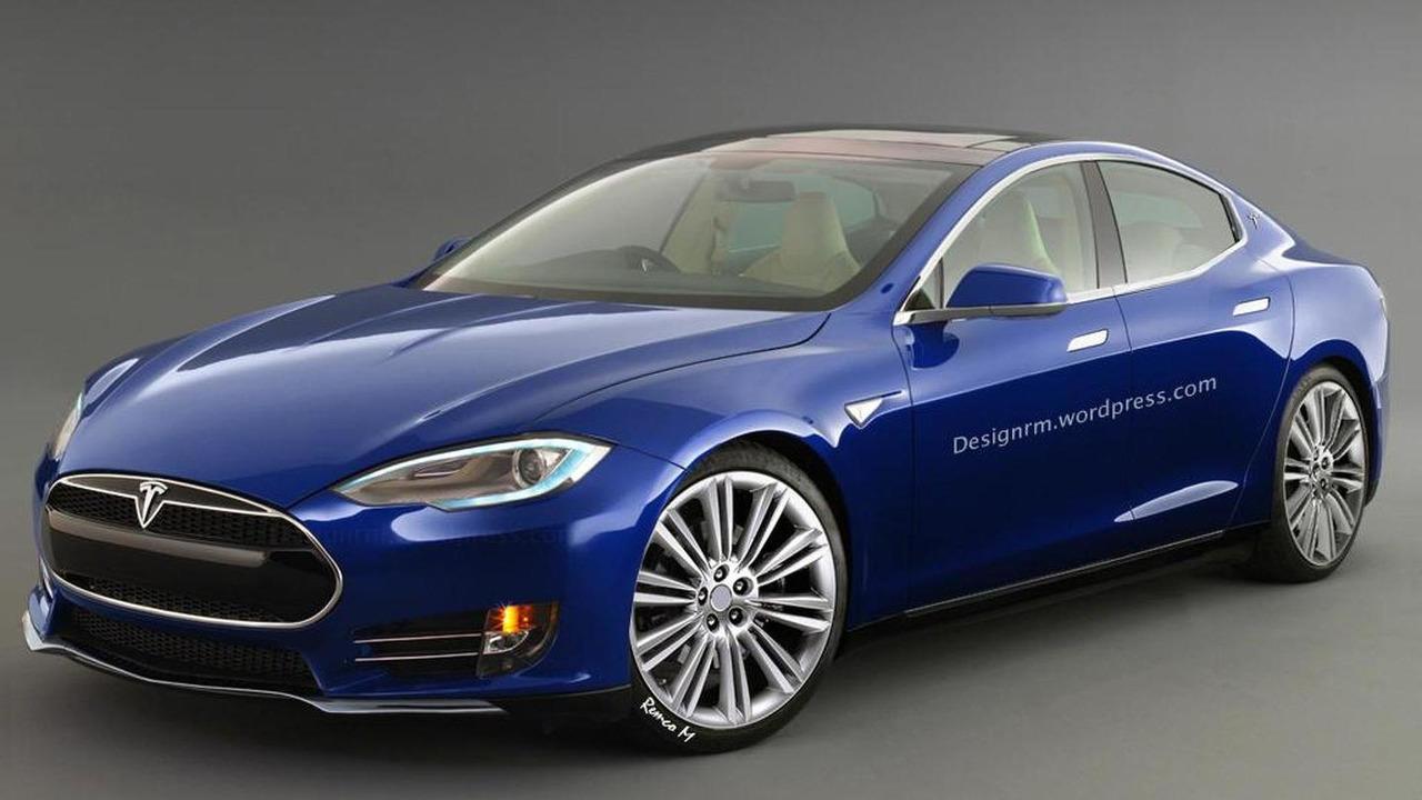 Tesla Model III render