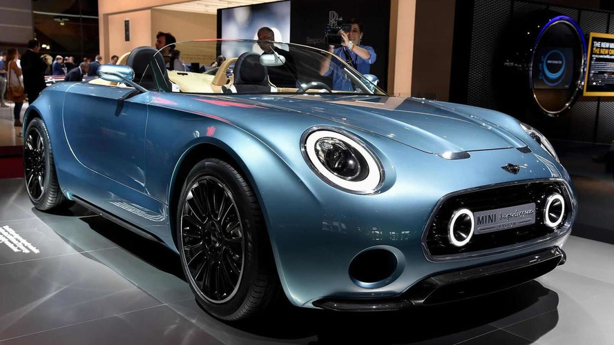 MINI working on a production Superleggera concept