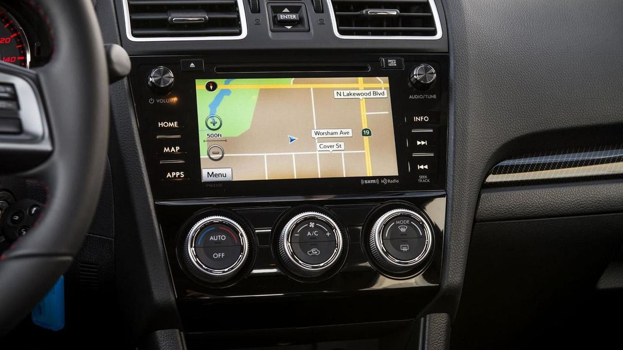2016 Subaru WRX & WRX STI