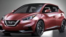 2016 Nissan Micra render